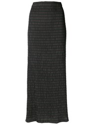 Romeo Gigli Vintage Strapless Dress Black