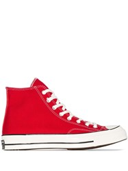 Converse Chuck Taylor 70 High Top Sneakers Red