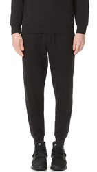 Emporio Armani French Terry Lounge Pants Black
