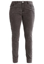 Junarose Jrfive Slim Fit Jeans Dark Grey Denim