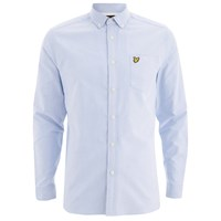 Lyle And Scott Vintage Men's Long Sleeve Oxford Shirt Riviera Blue