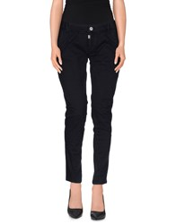 Timezone Trousers Casual Trousers Women Dark Blue
