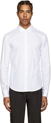 Wooyoungmi White Double Collar Shirt