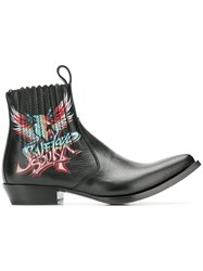 Givenchy Save Our Souls Cowboy Boots Black