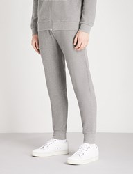 Barbour Grip Relaxed Fit Cotton Jersey Jogging Bottoms Mid Grey Marl