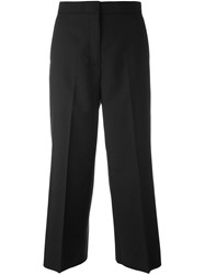 Rochas Cropped Trousers Black