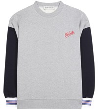 Etre Cecile Oversized Cotton Sweater Grey