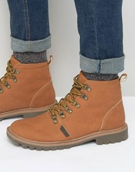 Rock And Religion Hiking Boots Tan
