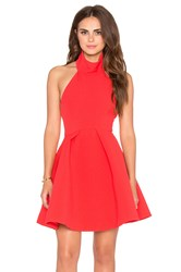 Finders Keepers Smoke Trails Dress Red