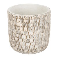 Amara Rocky Ridge Flower Pot Cream