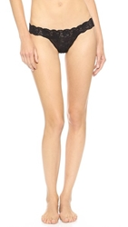 Cosabella Never Say Never Relaxed Thong Black