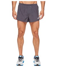 Asics Split Shorts 3 Dark Grey Men's Shorts Gray