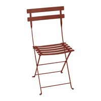 Fermob Bistro Metal Garden Chair Red Ochre