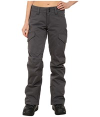 Burton Fly Pants Faded Bedford Cord Women's Casual Pants Gray