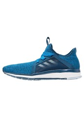 Adidas Performance Edge Lux Cushioned Running Shoes University Blue Ice Blue Tech Steel Dark Blue