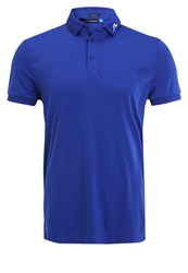 J. Lindeberg J.Lindeberg Regular Fit Polo Shirt Strong Blue