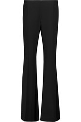 Acne Studios Mello Crepe Flared Pants Black