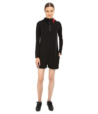 Yohji Yamamoto Zip Jumpsuit Black Women's Jumpsuit And Rompers One Piece