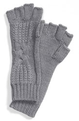 Women's Ugg Australia 'Isla' Metallic Knit Fingerless Gloves