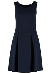 Taifun Jersey Dress Deep Blue Dark Blue
