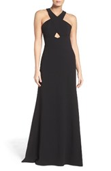 Aidan Mattox Women's By Cutout Gown