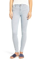 Parker Smith Women's Ava Railroad Stripe Skinny Jeans