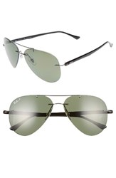 Ray Ban Men's 59Mm Polarized Aviator Sunglasses