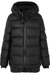 Templa Memba Hooded Quilted Shell Down Coat Black