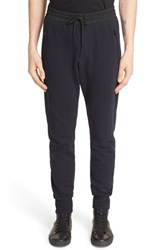 Men's The Kooples Woven Trim Sweatpants