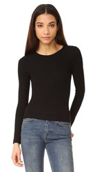 Getting Back To Square One Cropped Pullover Black