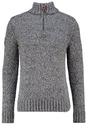 Superdry Jumper Charcoal Heather Grey