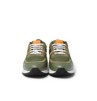 Givenchy Panelled Mesh Leather And Suede Sneakers Green