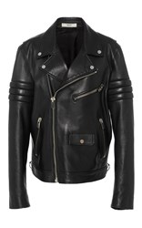 Bally M'o Exclusive Andre Saraiva Men's Motorcycle Jacket Black