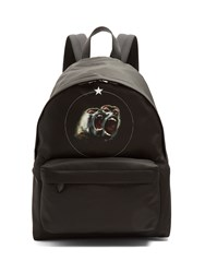 Givenchy Monkey Brothers Print Nylon Backpack Black Multi