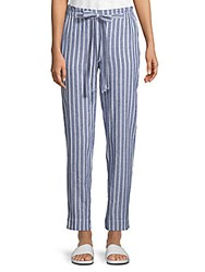 Beach Lunch Lounge Linen Pants Grey