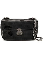 Moschino Cheap And Chic Rocco Shoulder Bag Black