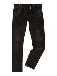 Replay Numasig Tapered Fit Jeans Black