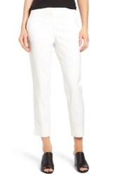 Vince Camuto Women's Double Weave Crop Flare Pants New Ivory
