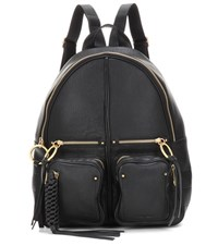See By Chloe Leather Backpack Black