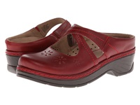 Klogs Usa Carolina Tex Mex Women's Clog Shoes Red