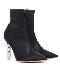Sophia Webster Jumbo Coco Ankle Boots Black