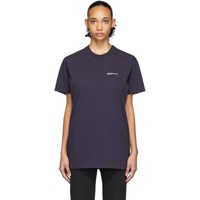 A.P.C. Navy Jjjjound Edition Logo T Shirt