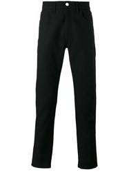 Raf Simons Straight Leg Trousers Men Cotton 33 Black
