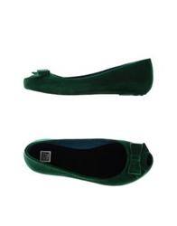 Colors Of California Ballet Flats Green