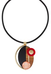 Sweet Deluxe Bodil Necklace Goldcoloured