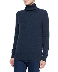 Loro Piana Spencer Cashmere Knit Turtleneck Sweater