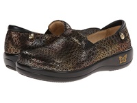 Alegria Keli Professional Fancy Giraffe Women's Shoes Bronze