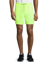 Nike 5.5 Inch Volley Drawstring Shorts Volt