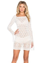 Spell And The Gypsy Collective Leila Off The Shoulder Mini Dress White