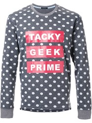 Guild Prime Polka Dot Sweater Grey
